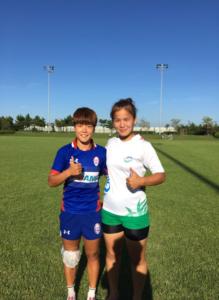 Korean and Uzbekistan Women | Asia Rugby