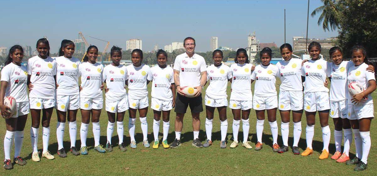 Indian U17 girls rugby
