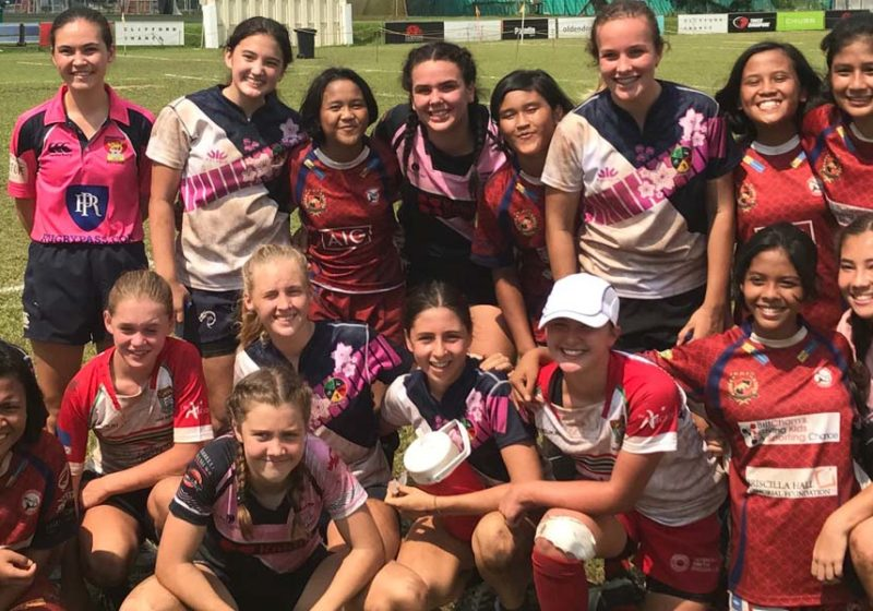 All-Girls Contact Rugby