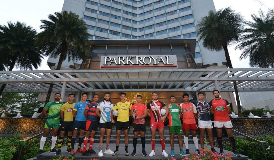Asia Rugby Sevens Trophy Team Captains Asia Rugby