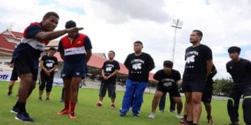 Chang Rugby Clinic on Tour 2020