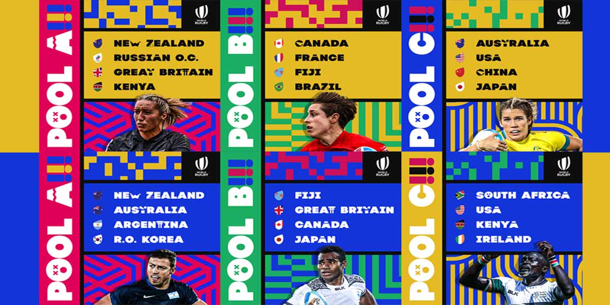 Rugby sevens pools
